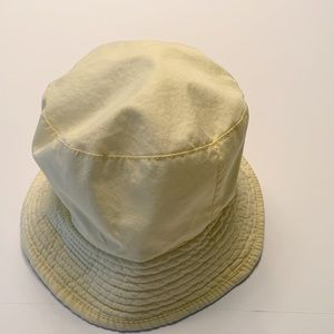 "Pale yellow floppy ""Gilligan hat. Excellent shape!"